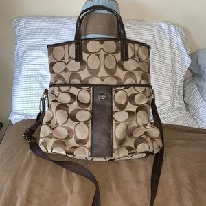 Coach Tote Bag with Long Strap